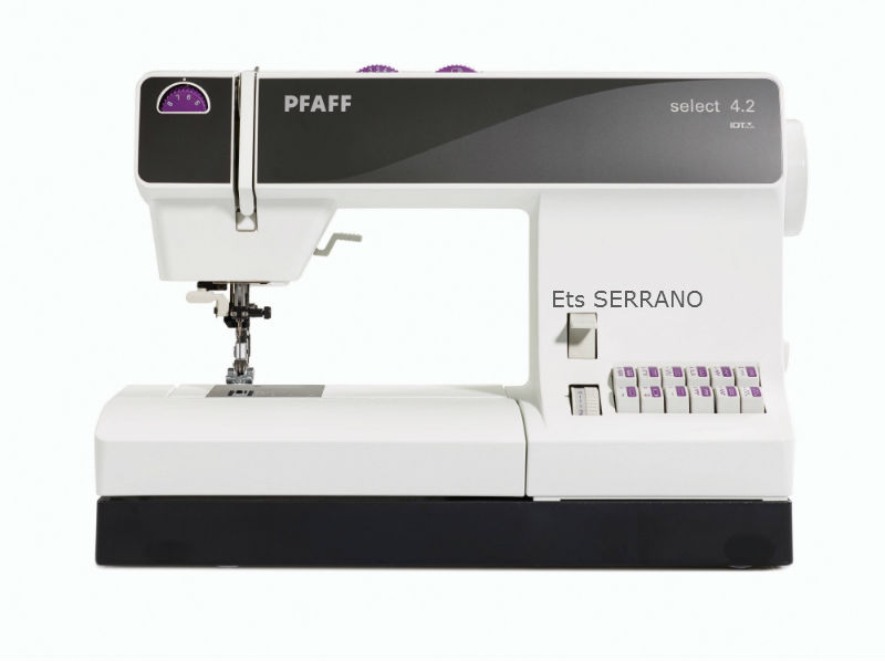 machineacoudre pfaff select 4 2 serrano agen